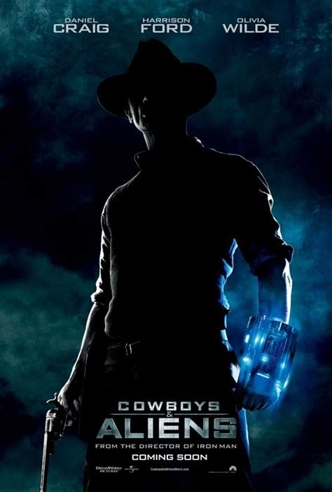 sinopsis film cowboy and alien new international teaser poster for cowboys aliens