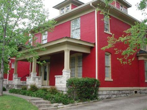 rote fassadenfarbe hausfassade farbe 65 ganz gute vorschl 228 ge archzine net