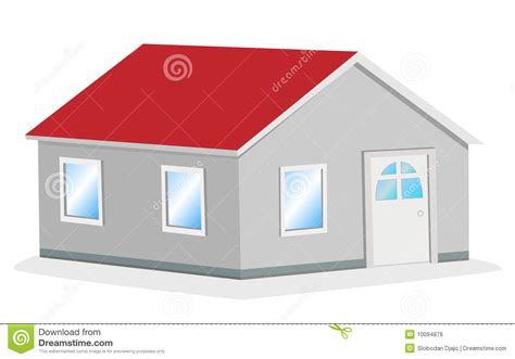 3d Home Architect Free Download simple house vector illustration royalty free stock image