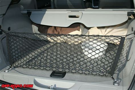 Jeep Grand Cargo Net 2011 Jeep Grand Review Road