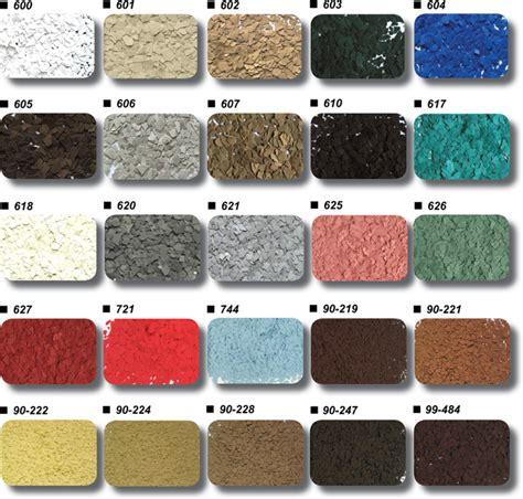 Epoxy Floor Color Charts   Garage Excell