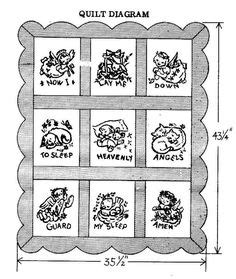 design pattern hibernate hand embroidery pattern 7212 now i lay me down to sleep