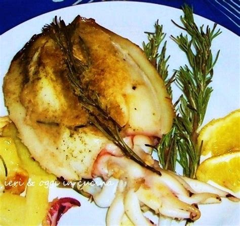 come cucinare seppie e patate seppie con patate al forno ieri oggi in cucina