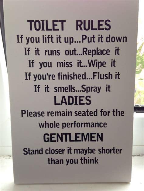 funny bathroom sign funny bathroom sign diy pinterest