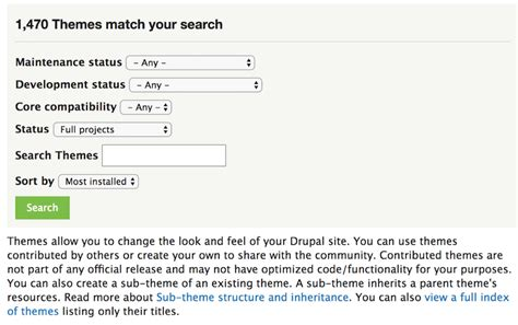 theme drupal install how to create a website beginner s guide to make a