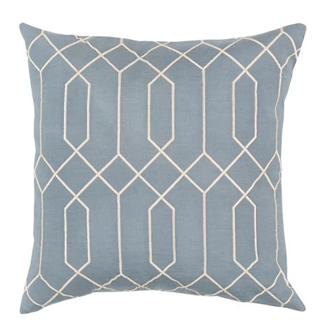 Light Blue Pillows regency linen light blue pillow