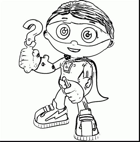 Super Why Coloring Pages To Print Glum Me Why Coloring Pages To Print