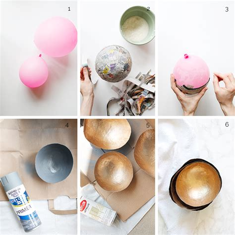 How To Make Paper Mache Glue At Home - diy paper mache nesting bowls wellnesting creating a