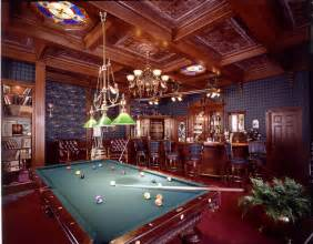 Billiard Lighting English Pub Project Traditional Family Room Other