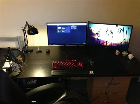 Gaming Setup Table cool computer setups and gaming setups