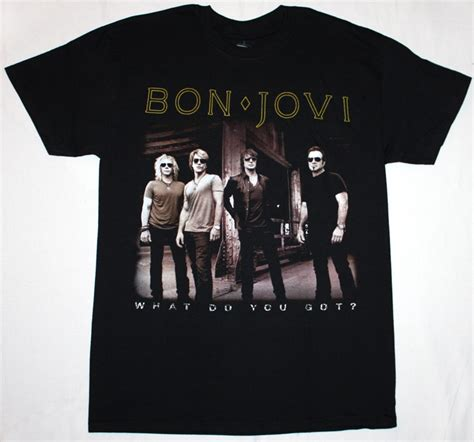 Kaos Bon Jovi No 94 bon jovi what do you got band photo rock europe def