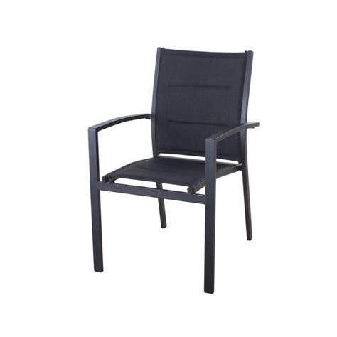 chaise de jardin hesperide fauteuil de jardin texaline azua noir rembourr 233 achat