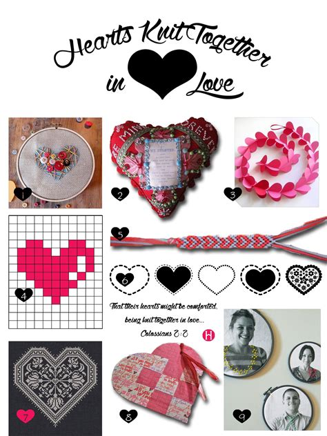 hearts knit together hearts knit together in celebration the mormon home