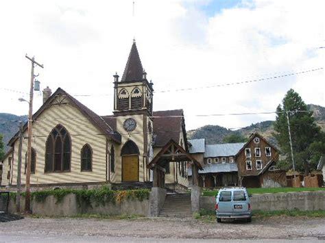 Gothic Revival House Eureka Utah Scenes