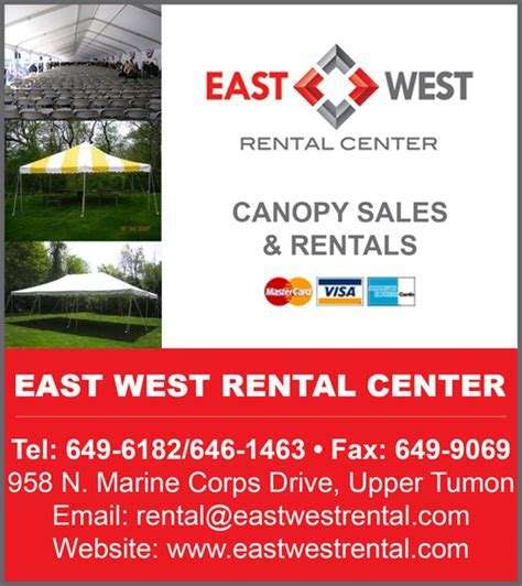 Canopies   Rental/Sales   Find Guam Online Directory News