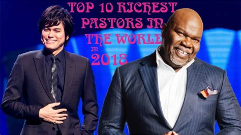 top 10 richest pastors in the world in 2019
