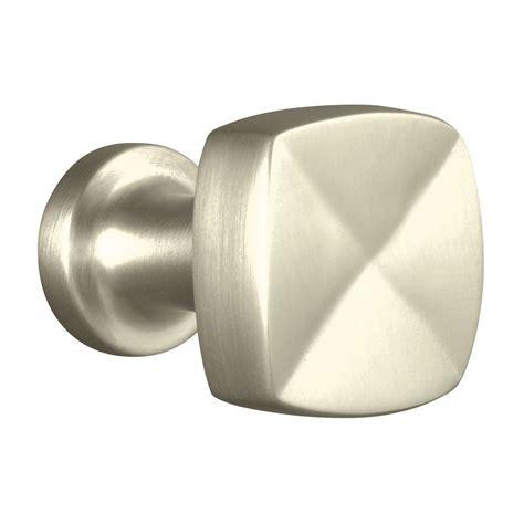 Kohler Knobs by Kohler Margaux 15 16 In Vibrant Brushed Nickel Cabinet