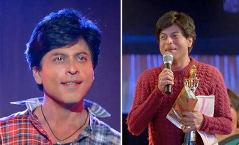 film fan shahrukh khan s look in fan real one looks like his own