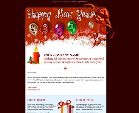 17 beautifully designed christmas email templates for