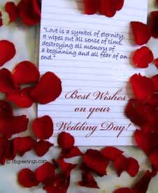 best wishes on your wedding day quotespictures