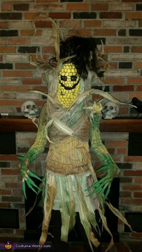 corn stalk costume step  step guide