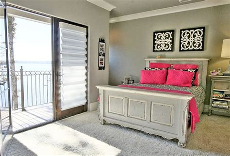 pink and grey bedroom designs grey bedroom with pink pillows for contrast