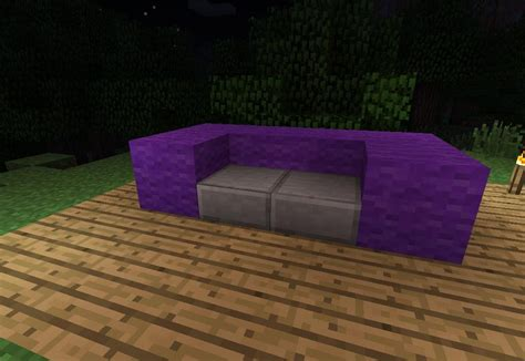 how to make couch in minecraft how to make furniture in minecraft 171 minecraft wonderhowto