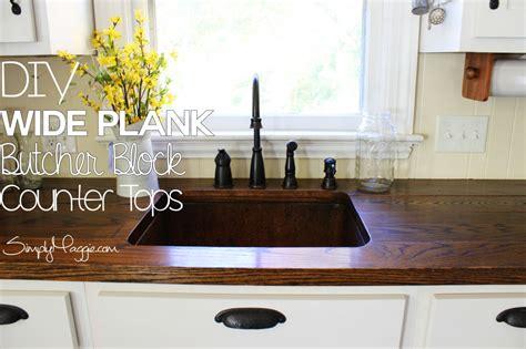 diy wide plank wood countertops diy wide plank butcher block counter tops not really