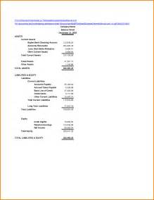 Simple Balance Sheet Template Free by Simple Balance Sheet Exle Authorization Letter Pdf