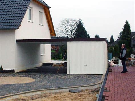 garagen ausstellung kombination aus garage und carport in berlin und brandenburg