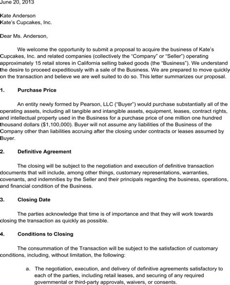 Download Letter Of Intent For Business For Free Formtemplate Definitive Agreement Template