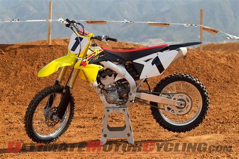 Suzuki Rmz450 Review 2013 Suzuki Rm Z450 Motocross Review