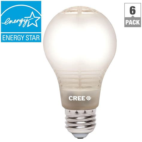 Cree 100 Watt Led Light Bulb Cree 60w Equivalent Soft White 2700k A19 Dimmable Led Light Bulb With 4flow Filament Design 6