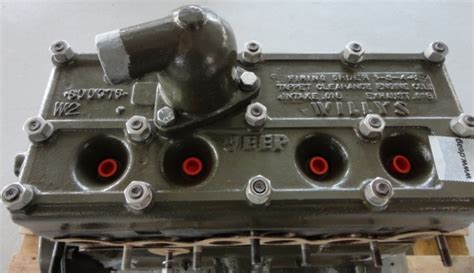 Jeep Engine History History Of Jeep 134 L Go Engine
