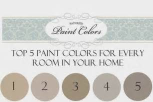 reader question top 5 paint colors for every room in your home favorite paint colors blog
