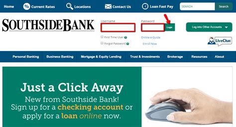 us bank login account southside bank banking login cc bank