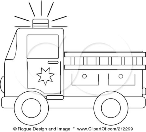 Truck Outline by Outline To Use For Firetruck Craft Birthday Ideas Coloring Pages Coloring And