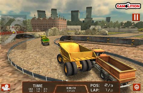 truck 3d racing dump truck 3d racing spel funnygames be