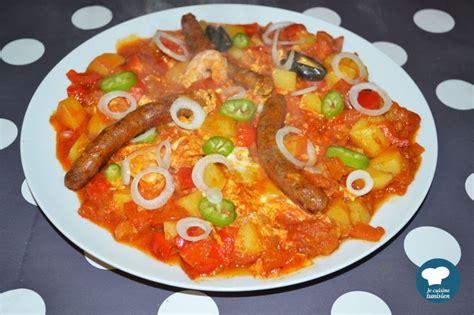 recette cuisine tunisienne chakchouka recette tunisienne la cuisine tunisienne