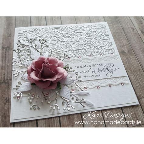 handmade wedding cards beautiful handmade wedding card