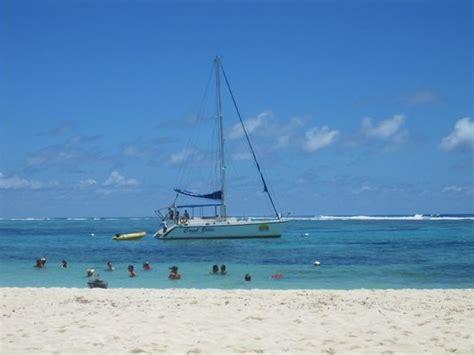catamaran tour grand baie catamaran ilot gabriel picture of monalysa tour operator