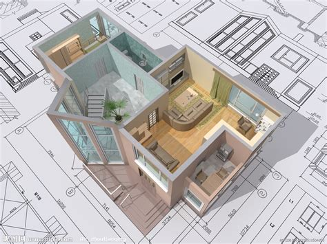 3d Architectural Floor Plans by