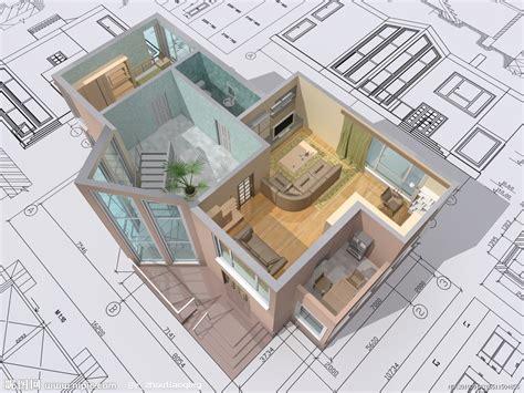 Image For Free Home Design Plans 3d Wallpaper Desktop | 3d建筑物与平面图设计图 3d作品 3d设计 设计图库 昵图网nipic com