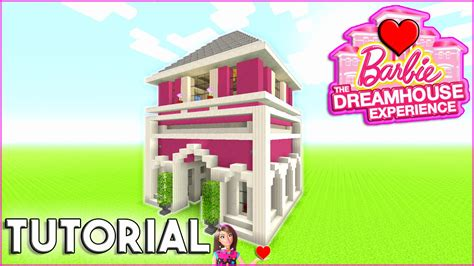 how to build a dream house minecraft tutorial how to build barbie dream house