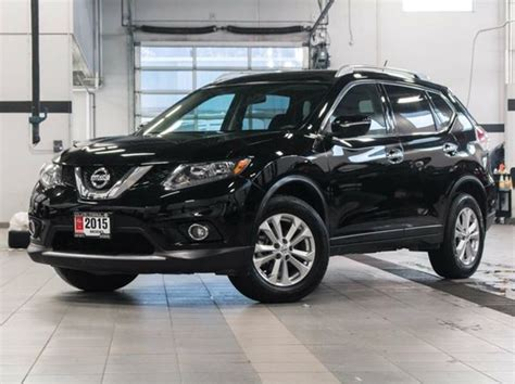 black nissan rogue 2015 2015 nissan rogue sv awd black kelowna infiniti nissan