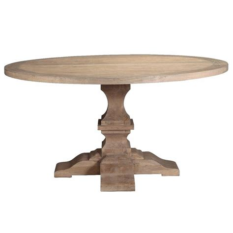 pedestal dining table recyled elm pedestal dining table