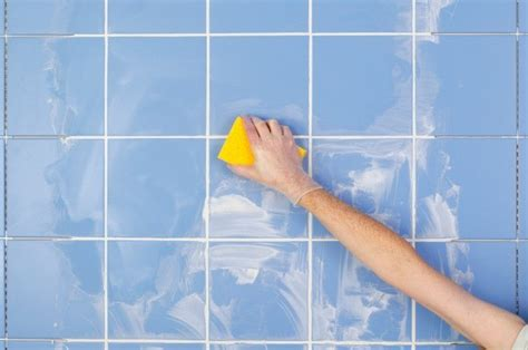how to get bathroom grout white again cleaning ceramic tile grout thriftyfun