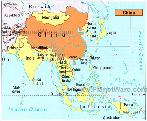 map of china and surrounding countries nepal neighbouring countries