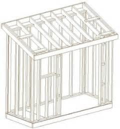 slant roof shed plans valine