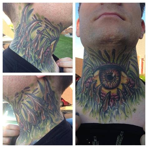 kyle dunbar tattoo neck done on kyle dunbar done by fredrick storey